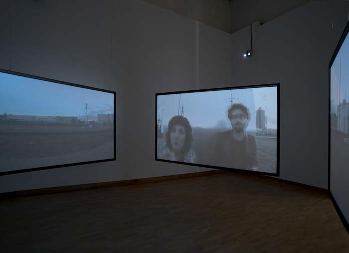 Installation view, Weisman Art Museum. Photo Rik Sfera.