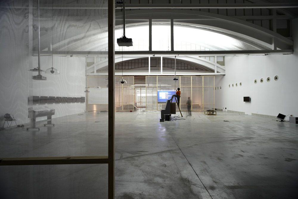 "Stephannie Rothenberg + Jeff Crouse (""furniture""). Photo courtesy LABoral."