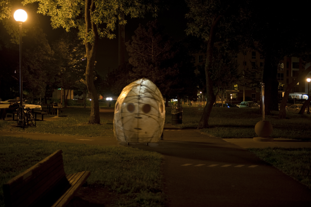 Janaki Ranpura, Egg and Sperm Ride, Northern Spark, 2011