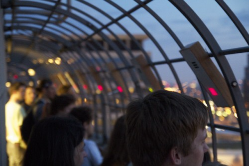 Observation deck W Minneapolis - The Foshay. Photo courtesy the artists.