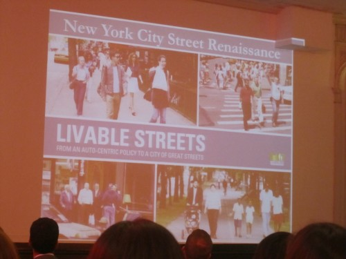 From an auto-centric policy to a city of great streets