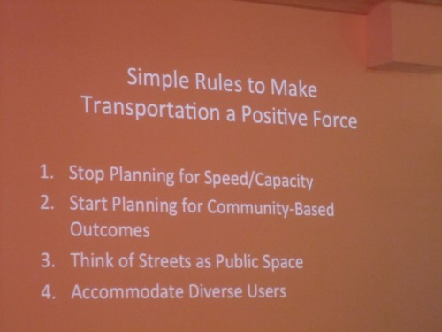 Simple Rules to Make Transportation a Positive Force