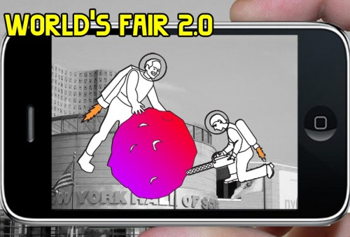Marisa Jahn and Stephanie Rothenberg, Worlds Fair 2.0