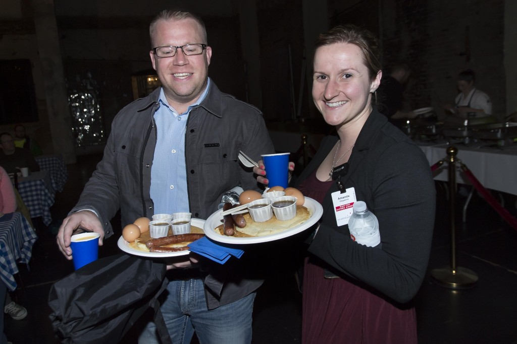 The Bachelor Farmer x Al's Breakfast, Northern Spark Pancake Feed, Aria, Northern Spark 2014. Photo: Stacy Schwartz.