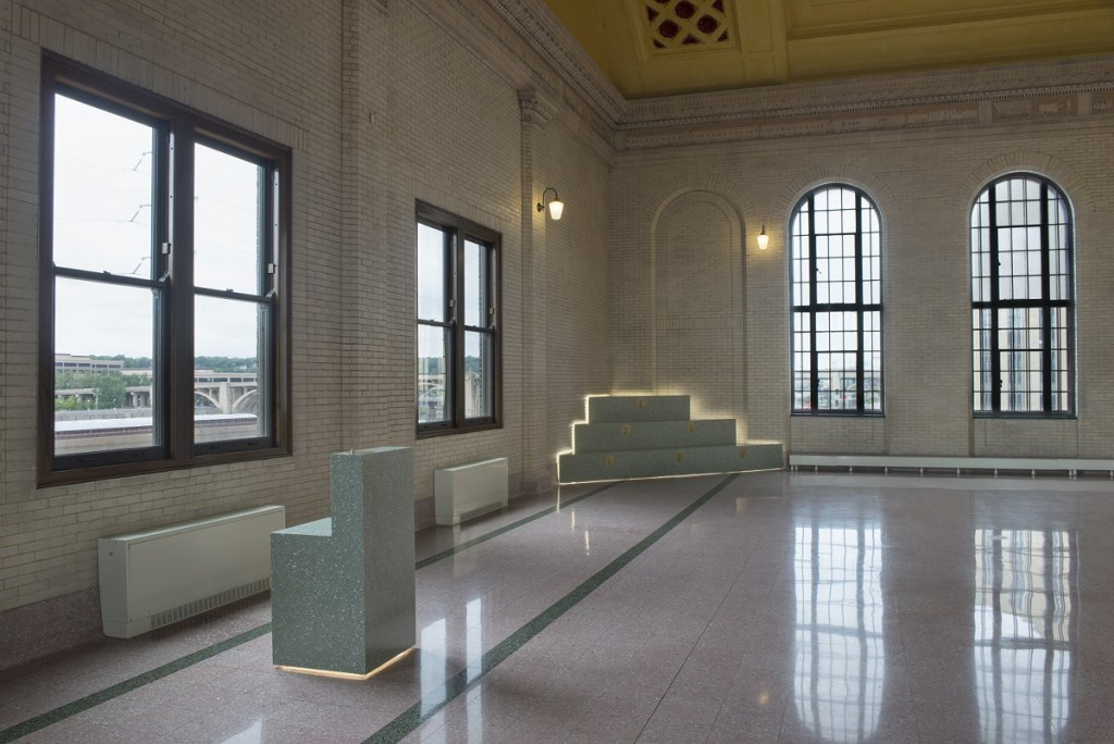 Installation view: Union Depot. Photo credit: Rik Sferra.