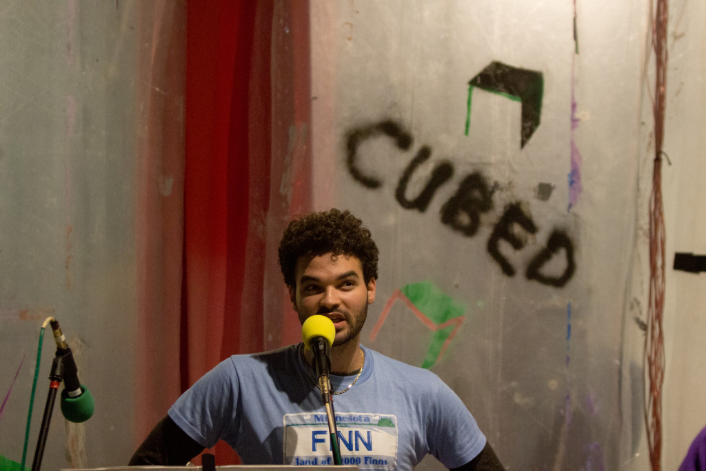 Eric F. Avery, Minneapolis³, Minneapolis Convention Center, Northern Spark 2014. Photo: Wendy Schreier.