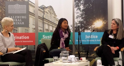 Opening Conversation: Artists Inspiring Change: Alexis Frasz, Kalyanee Mam, Frances Whitehead