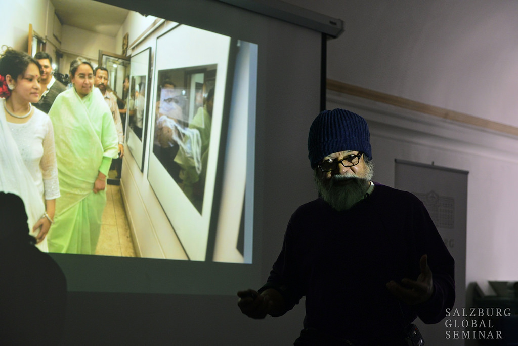 Shahidul Alam, Raising Awareness and Catalyzing Public Engagement. Photo: Salzburg Global Seminar