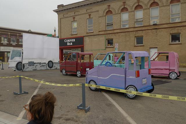 Preston Drum, Traffic Jam Scene