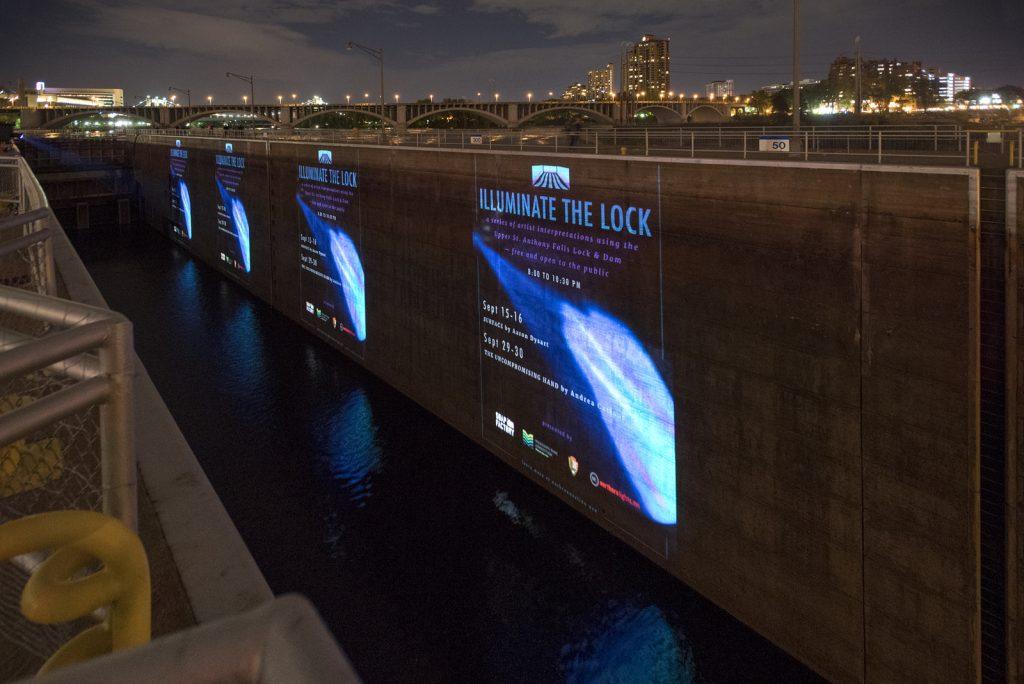 Illuminate the Lock, September 2017. Photo: Rik Sferra